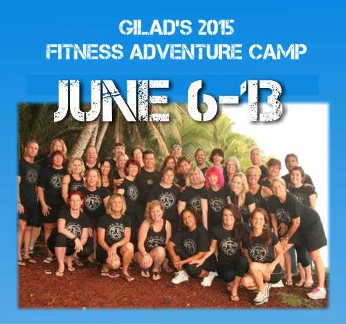 Gilad's Fitness Adventure Camp - 2015