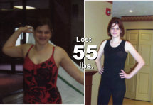 Alice - Lost 55 lbs!*