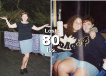 Jennifer - Lost 80 lbs!*