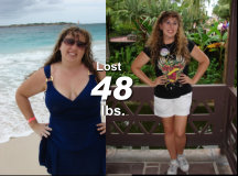 Marcy - Lost 48lbs*