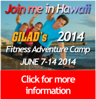 Join Gilad's Fitess Adventure
